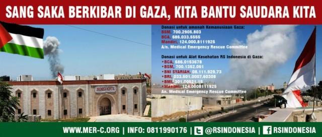 Dana utk Gaza via Mer-C