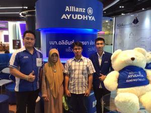 Bertemu stand Allianz di Thailand (Oktober 2014).